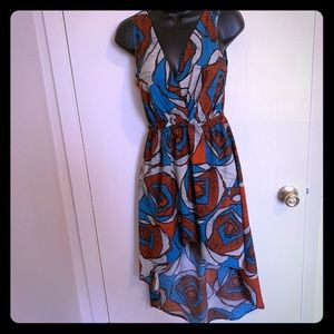 Hot & Delicious Abstract Rose Dress